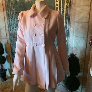 "Xhilaration ""Pink"" Car Coat"